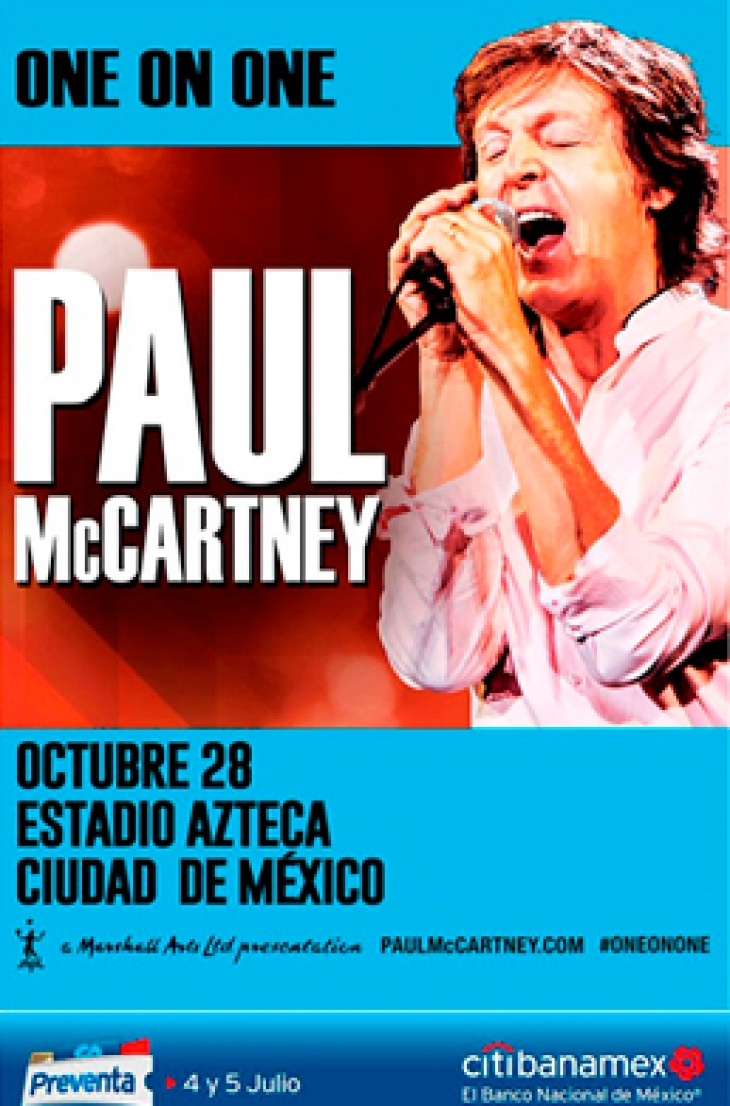 Transporte al concierto de Paul McCartney